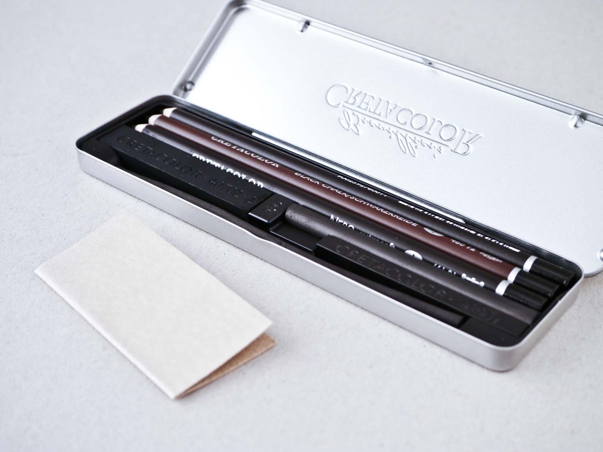 Cretacolor Charcoal Pocket Set
