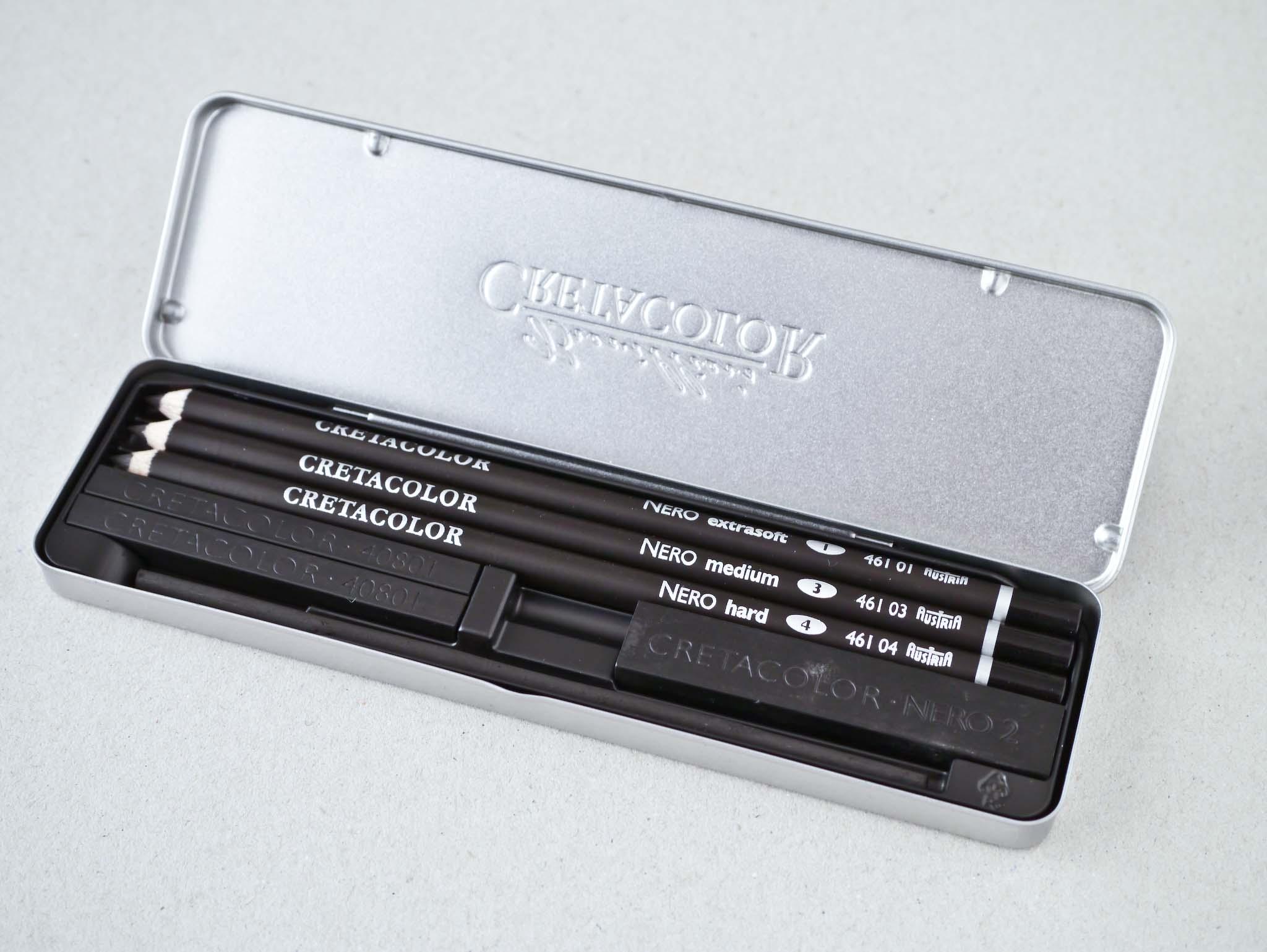 Cretacolor Nero Deep Black Pocket Set