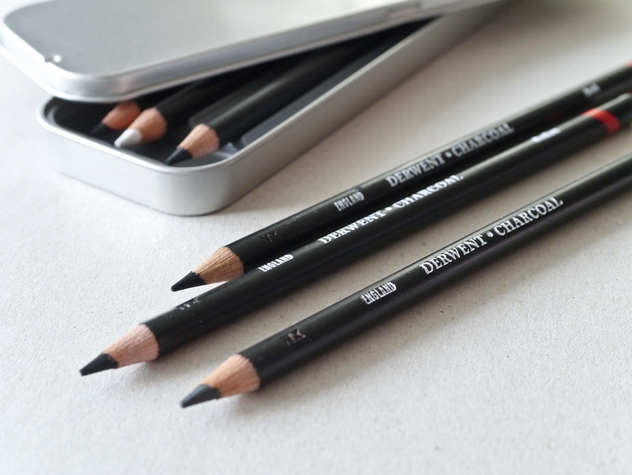 Derwent Charcoal Pencils