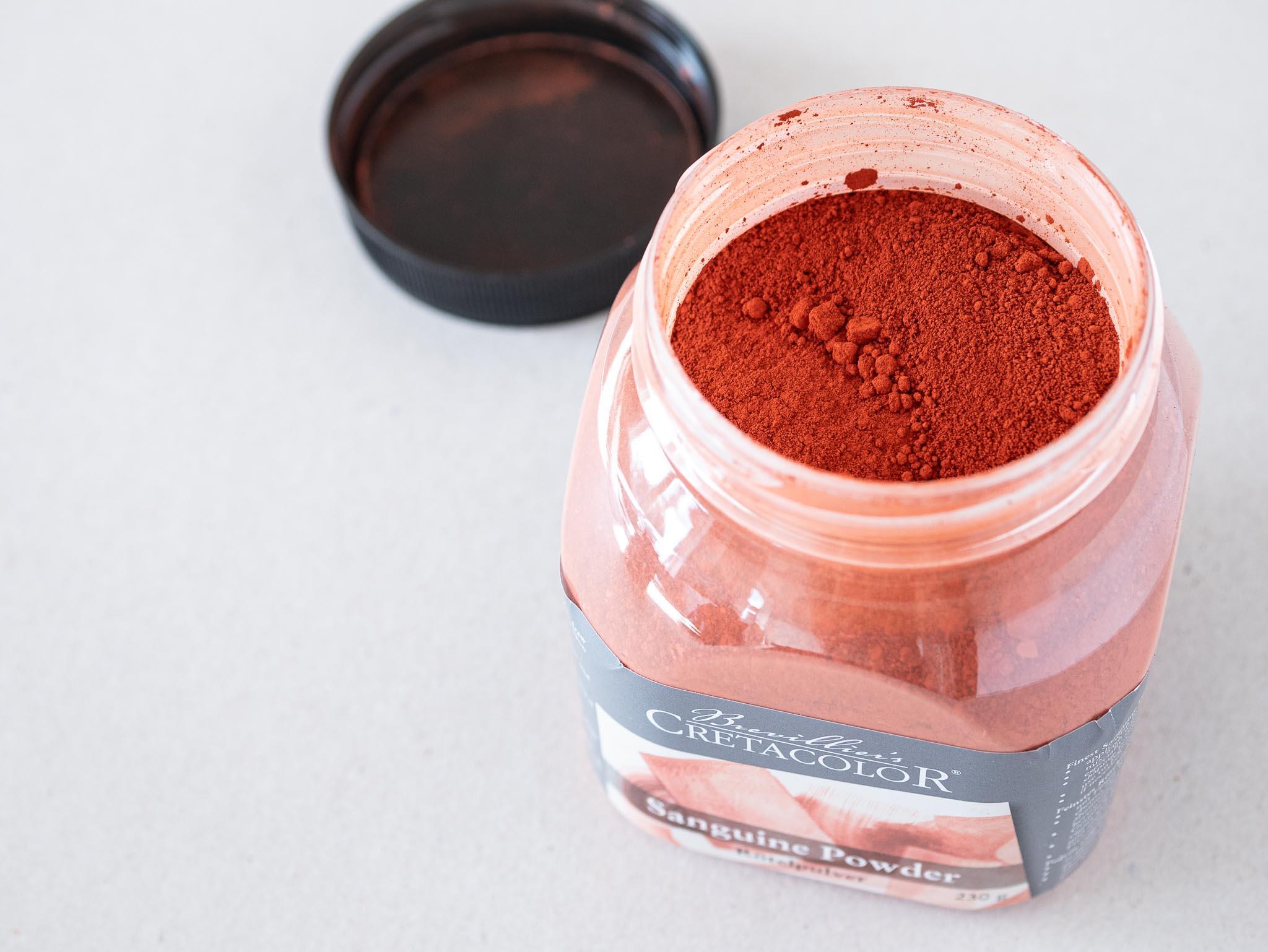 Cretacolor Sanguine Powder Rødkridtspulver 3